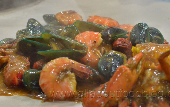 Seafood Mix dari Cut The Crab