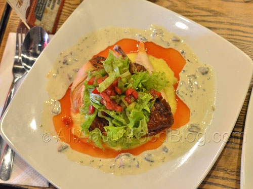 Smoked chicken with creamy mushroom sauce – 69.9k