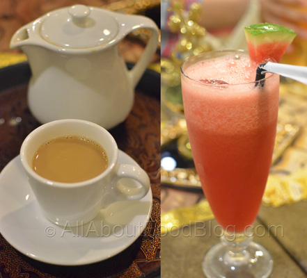 Syai Adeni dan Watermelon Juice